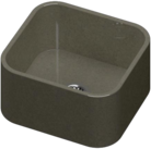 Gris Amazon Silestone Integrity Sink Due S