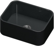 Negro Tebas Silestone Integrity Sink Due L