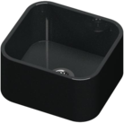 Negro Tebas Silestone Integrity Sink Due S